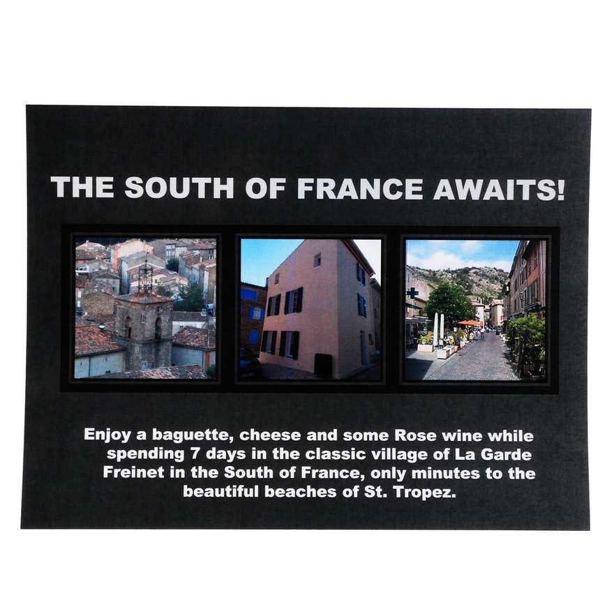 Holiday in the South of France, 7 Days and 6 Nights