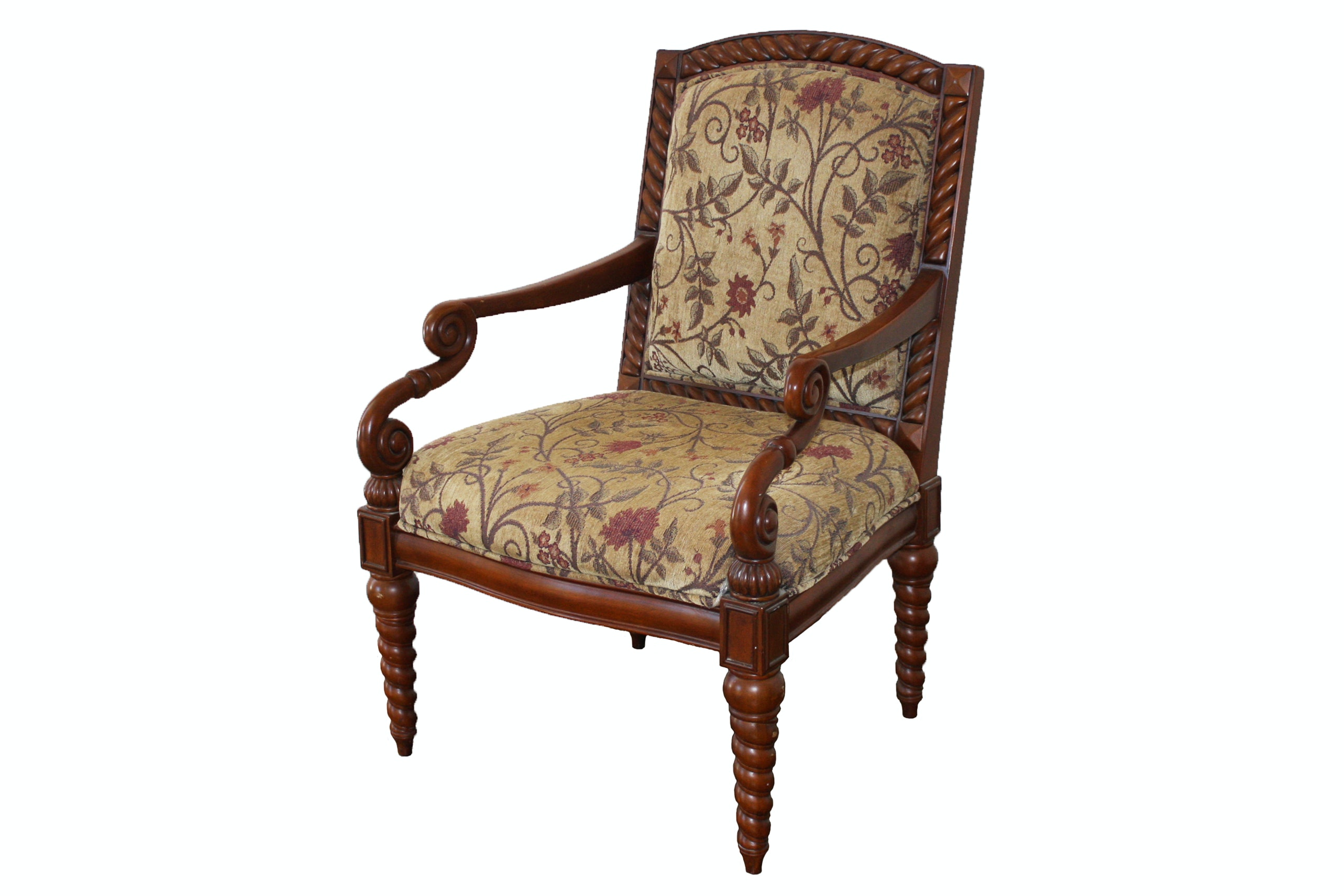 Vintage Accent Chair by The Bombay Company