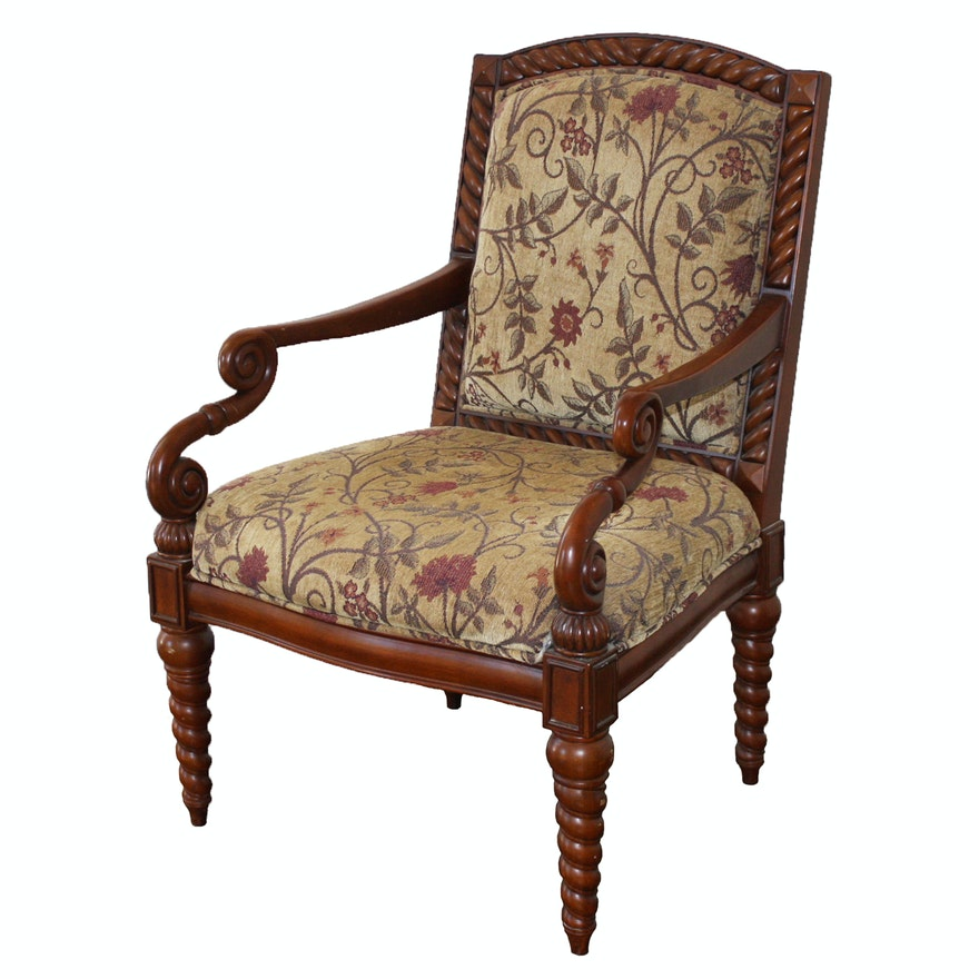 Vintage Accent Chair By The Bombay Company Ebth