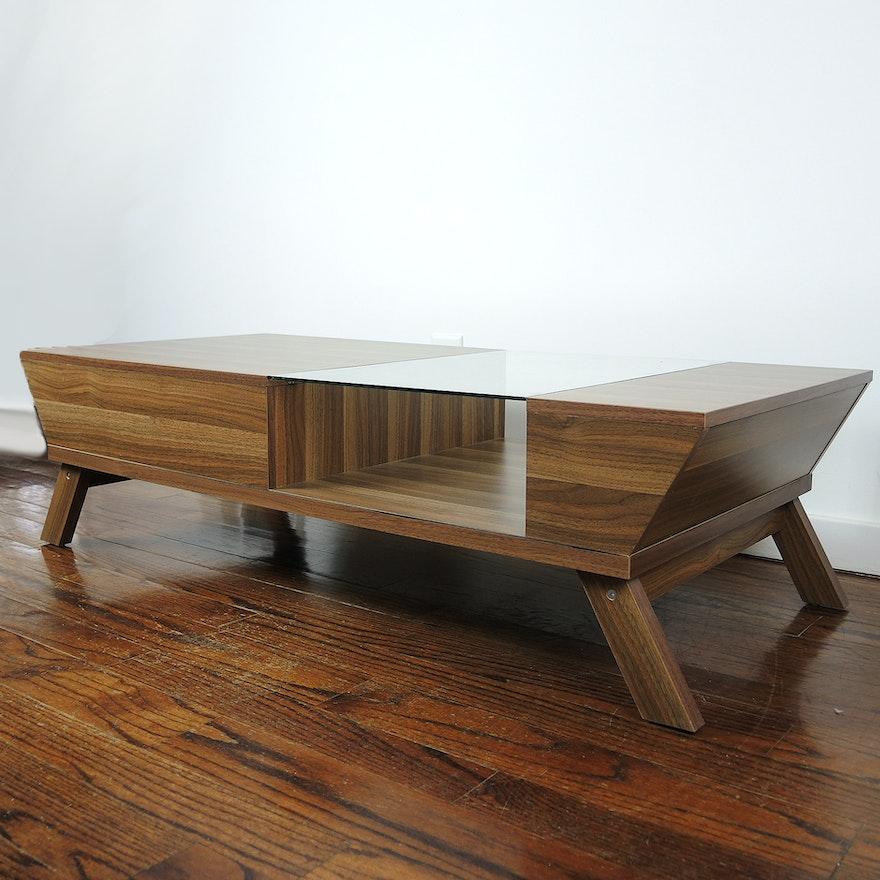 Contemporary Modern Style Coffee Table EBTH