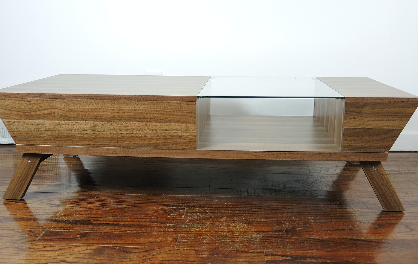 Contemporary Modern Style Coffee Table Ebth