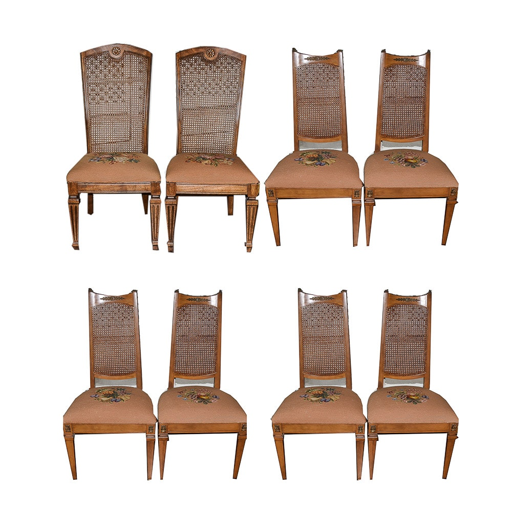 Vintage Neoclassical Style Side Chairs