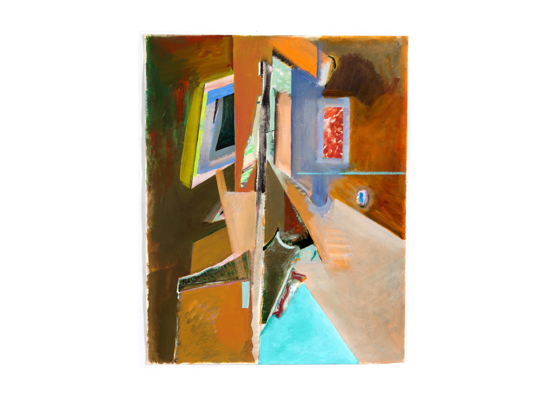 Abstract Acrylic Painting by Doris Vlasek-Hails