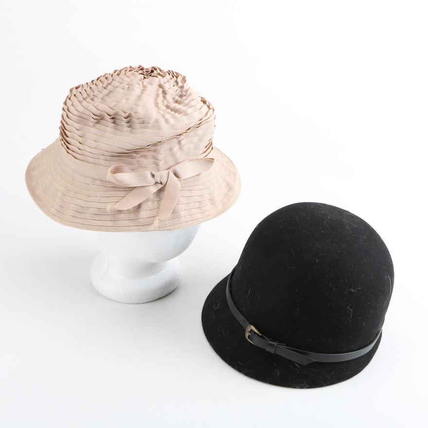 1d20f3c84eb33 Women s Vintage Cloche Hats   EBTH