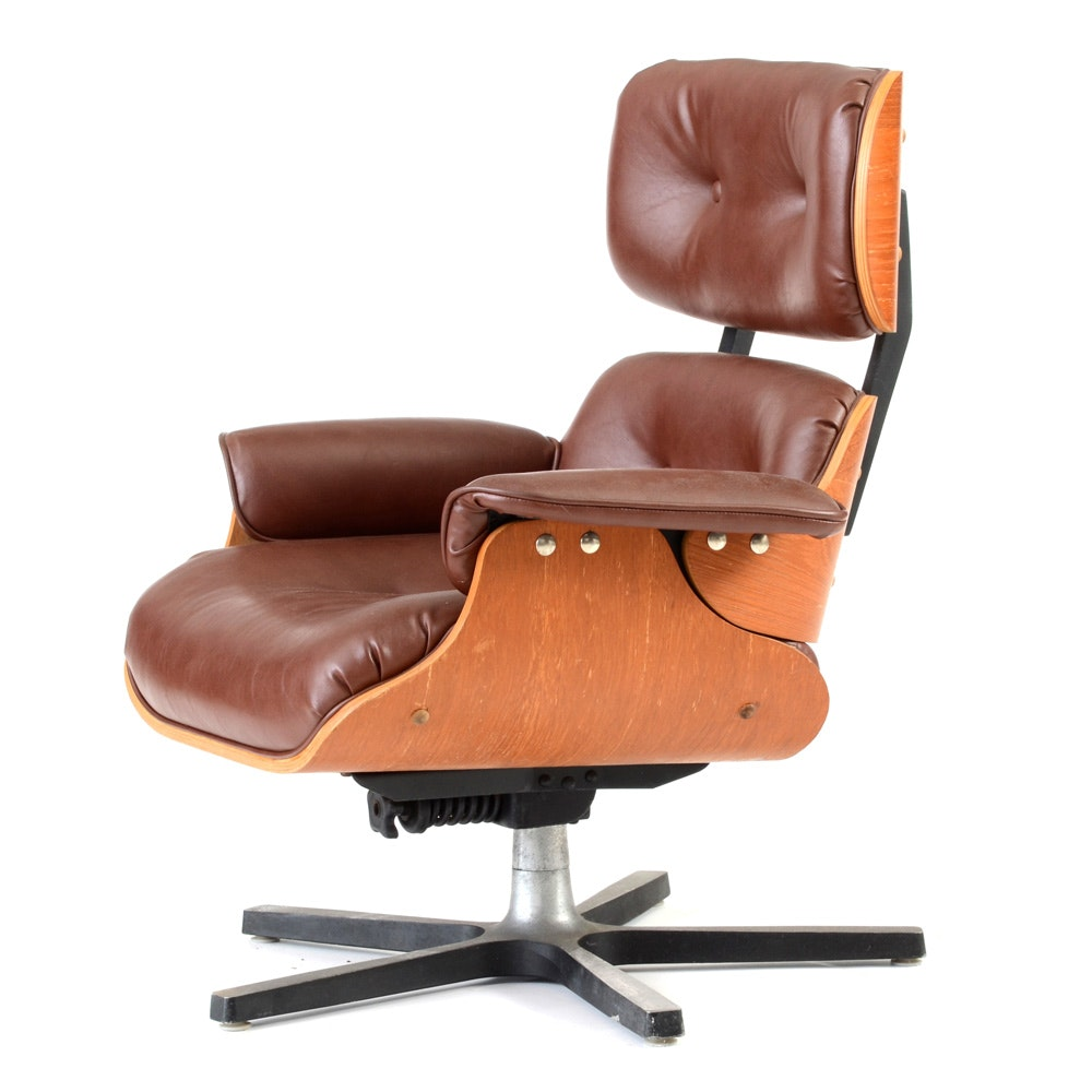 Eames Style Lounge Chair