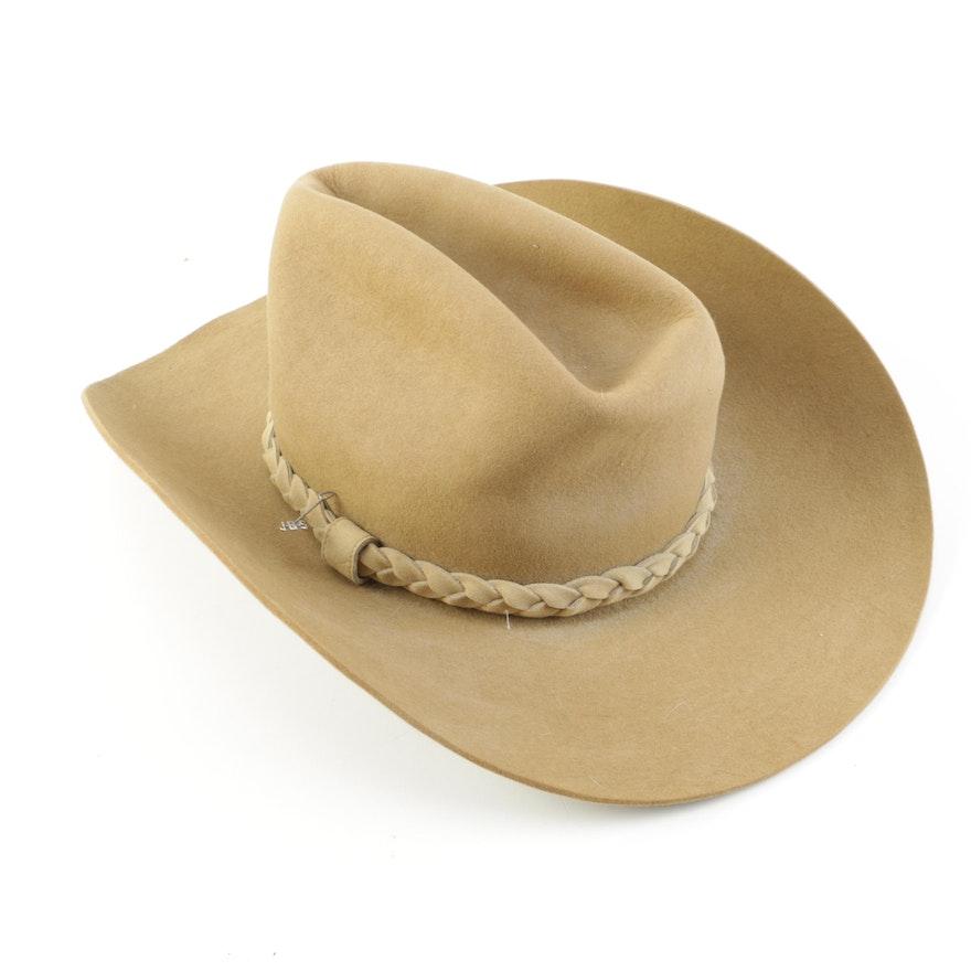 Stetson 4X Beaver Felt Cowboy Hat   EBTH 0c749cd7091