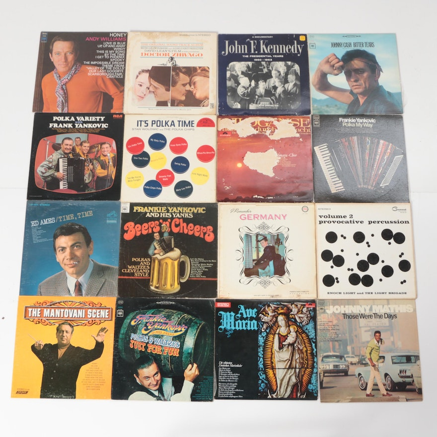 Johnny cash sammy davis and nearly 100 other vintage lps for West mathi best item