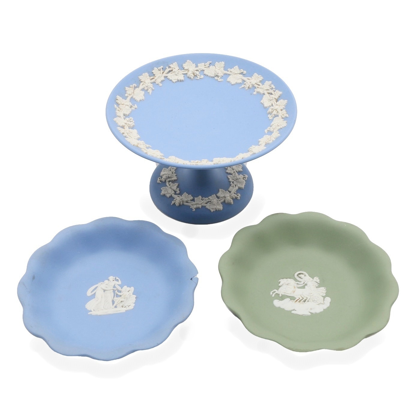 Three Wedgwood Jasperware Pieces