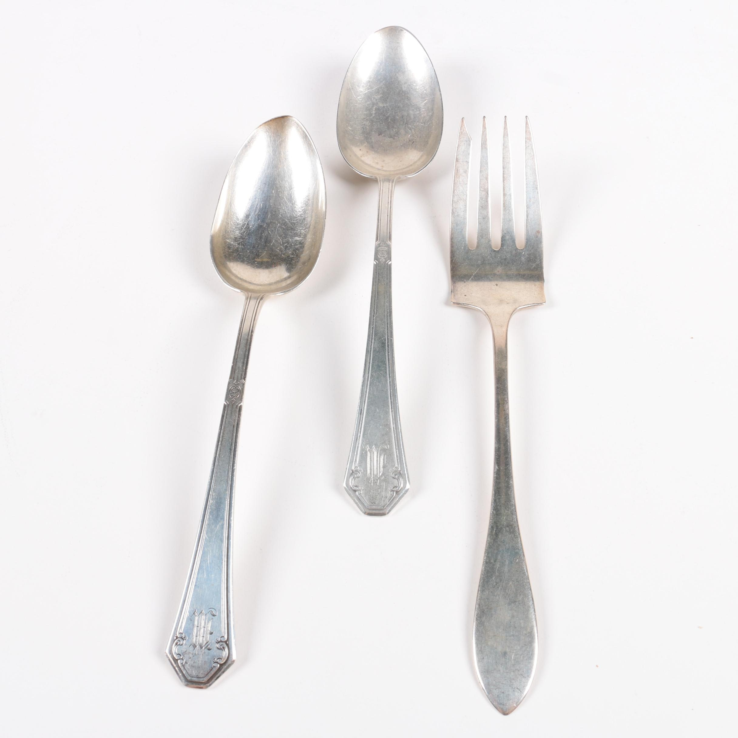 "Towle ""Lady Mary"" Sterling Silver Tablespoons"
