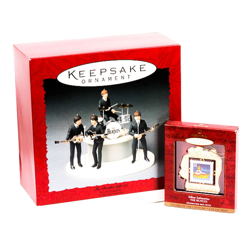 Beatles Hallmark Keepsake Collectibles