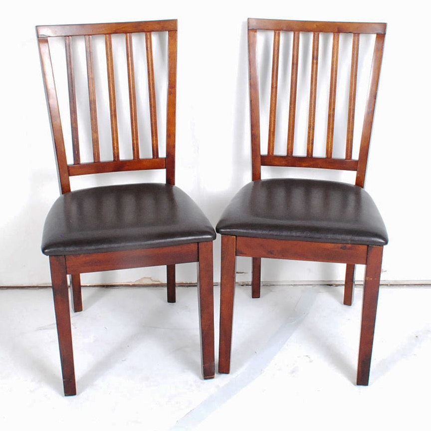 Mahogany Dining Chairs by Holland House