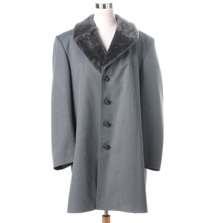b340e1e84d4b Men s Vintage London Fog Grey Wool Coat   EBTH