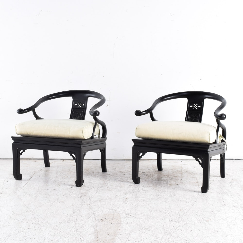 Asian Inspired Armchairs