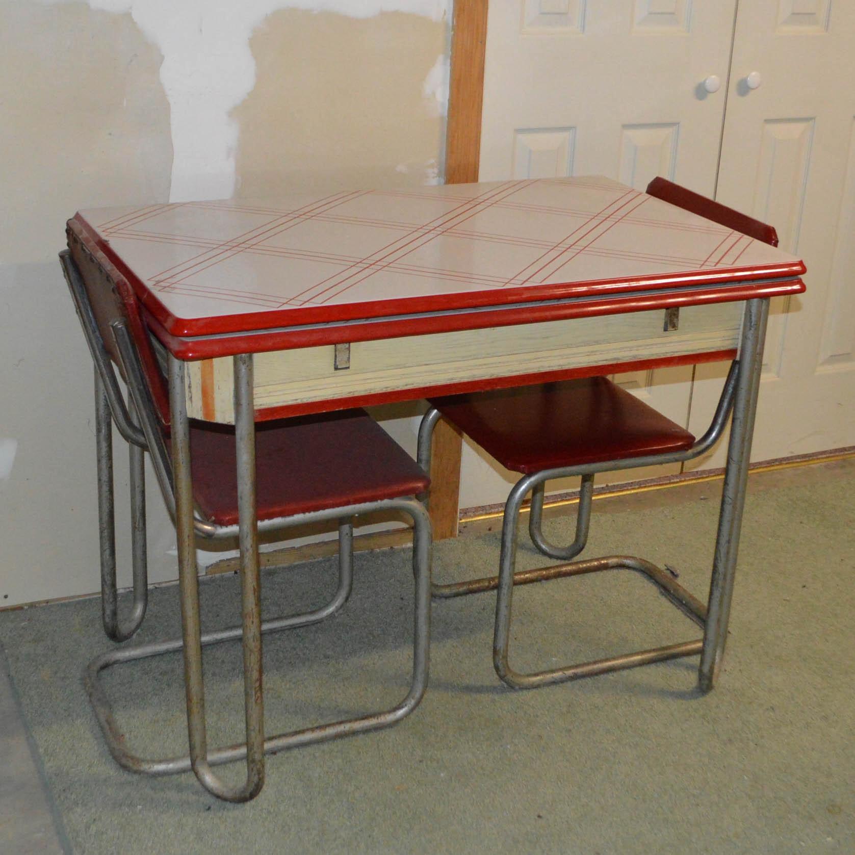 Vintage Mid-Century Dinette Set