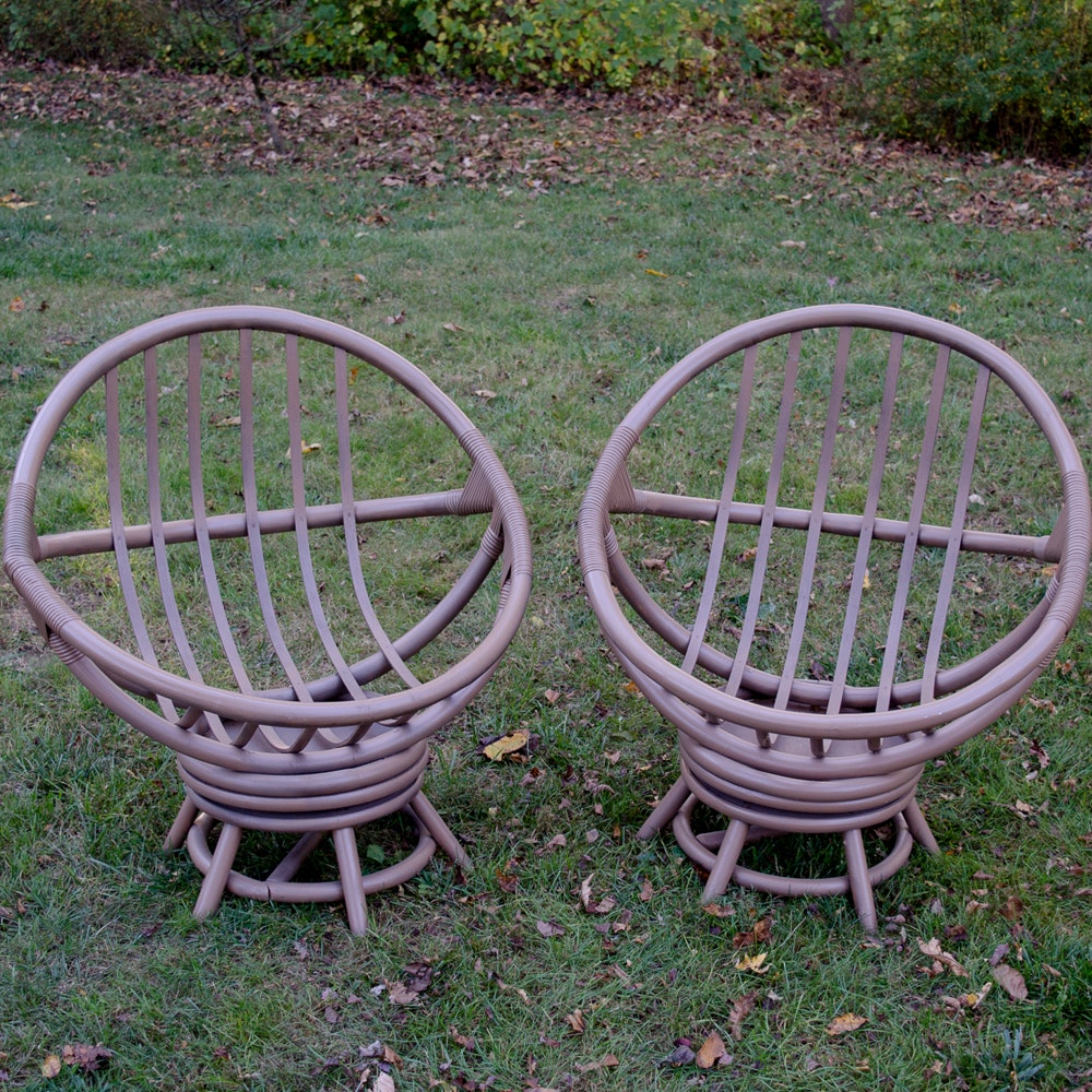 Pair of Papasan Chairs