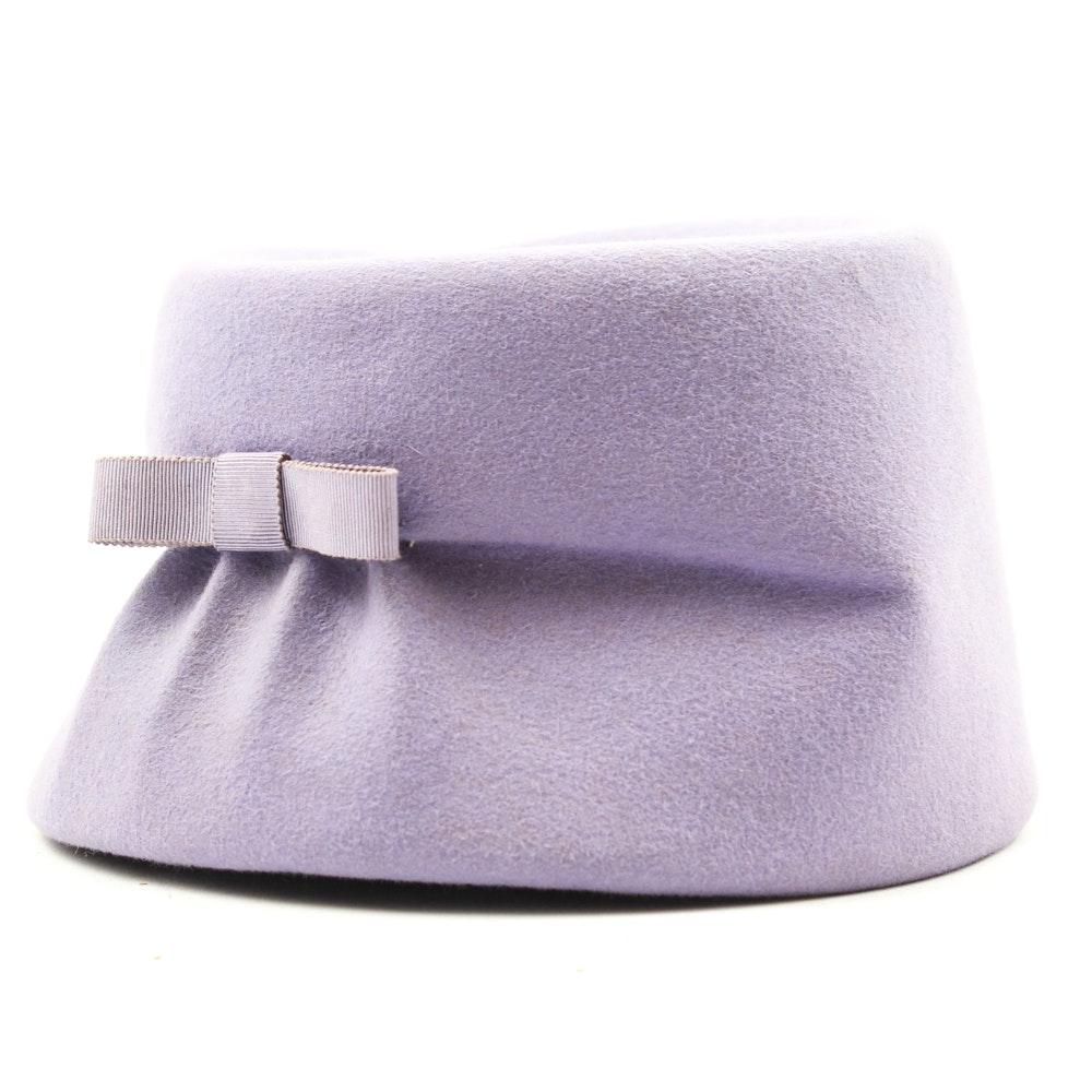 Vintage Christian Dior Pillbox Hat