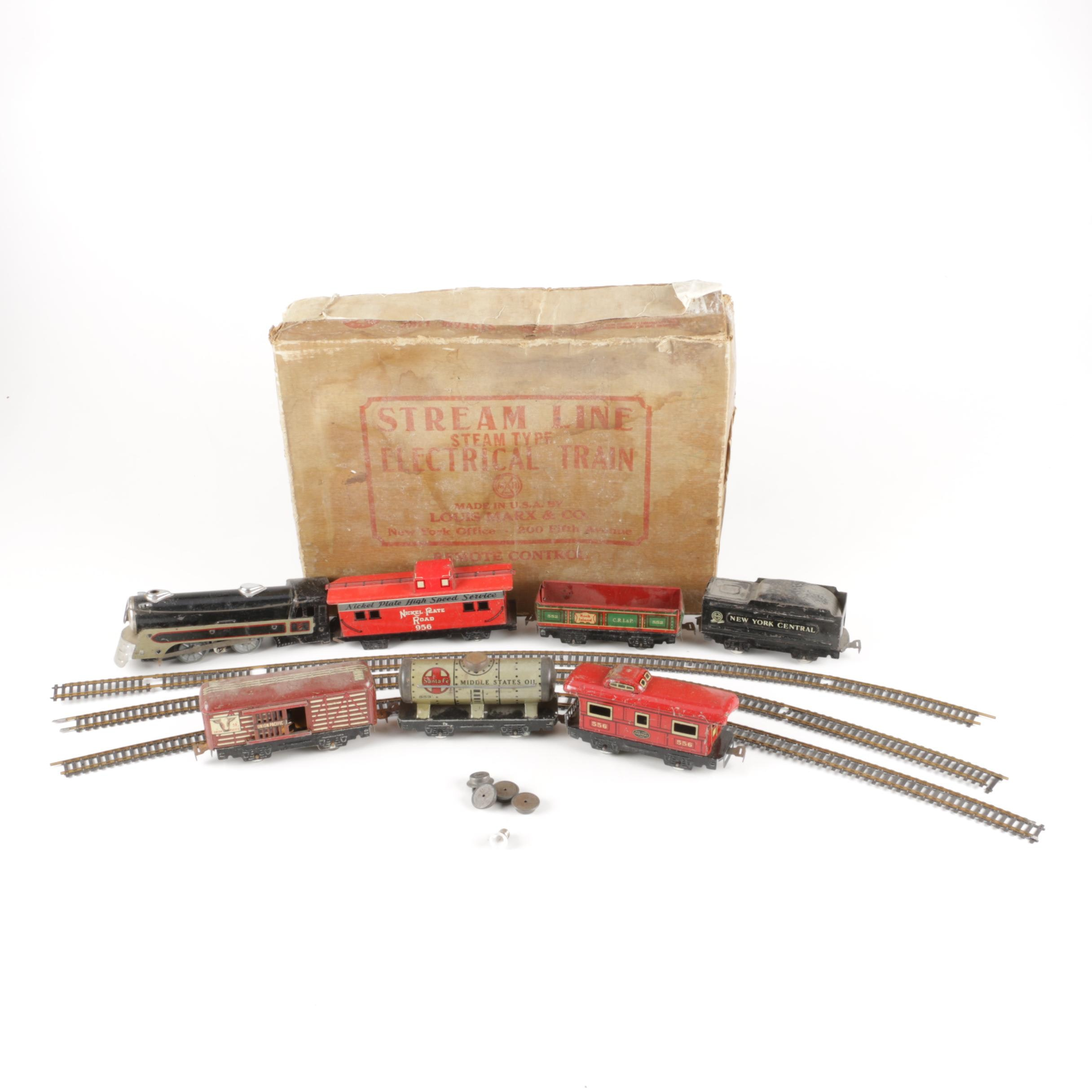 Marx Steam Type Electric Train Set