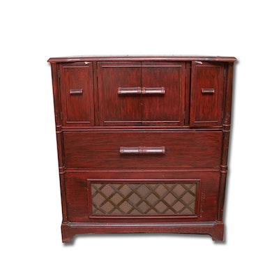 Vintage Asian Style Westinghouse Radio Cabinet