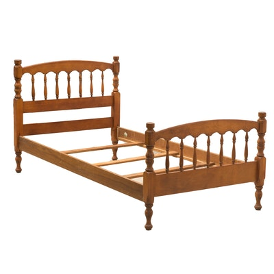 Ethan Allen Charleston Style Queen Size Four Poster Rice ...