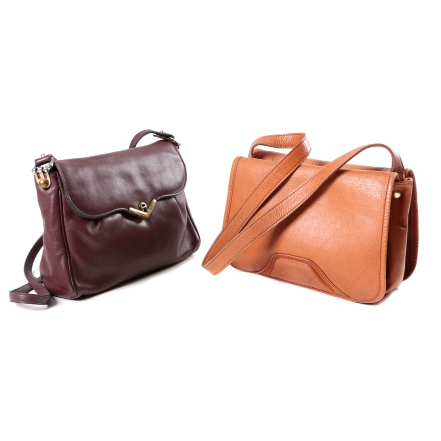 7cc9be33d114 Vintage Etienne Aigner and Tano of Madrid Leather Handbags   EBTH