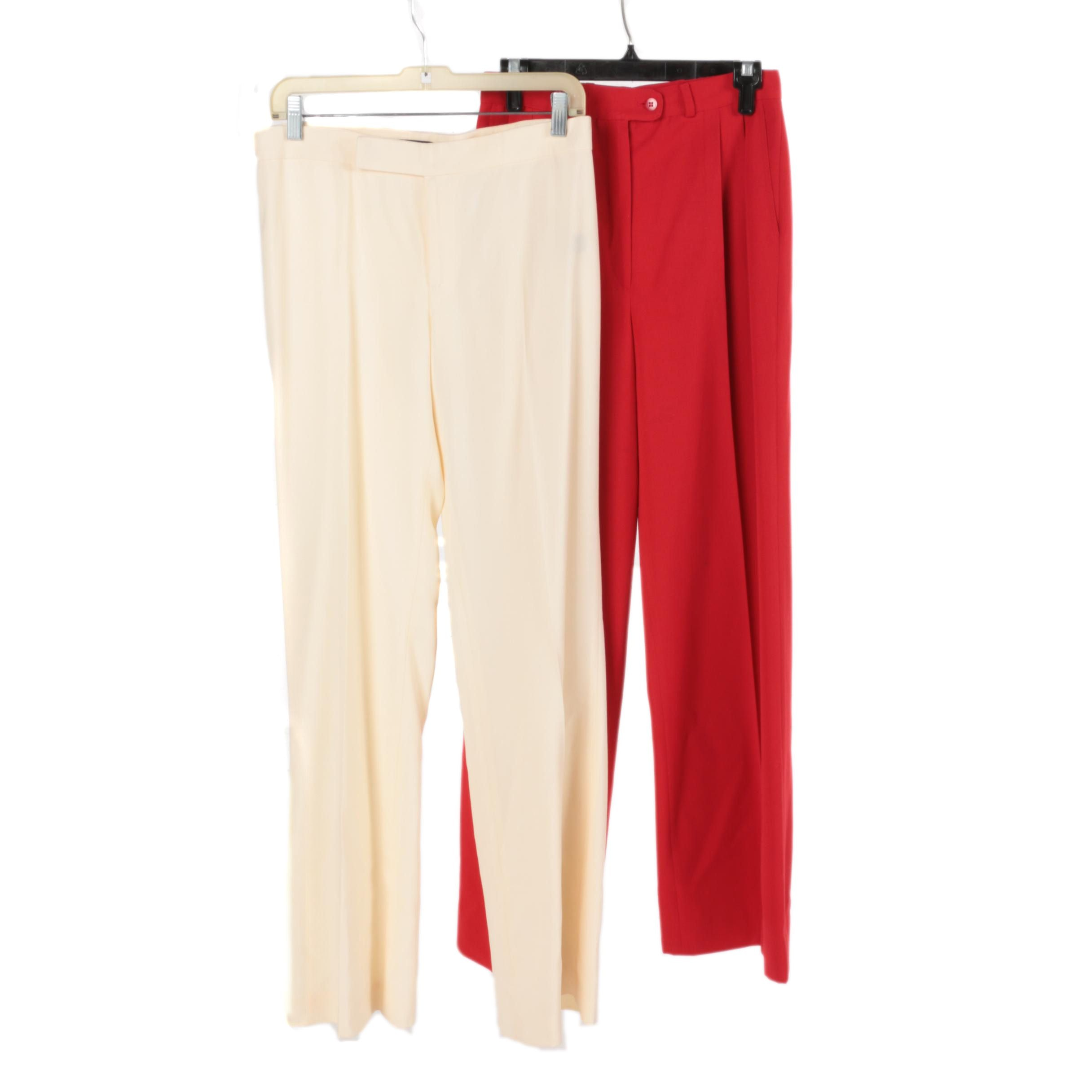 Women's Basil and Ralph Lauren Wool Pants