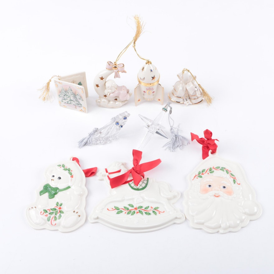 lenox christmas ornaments - Lenox Christmas Decorations