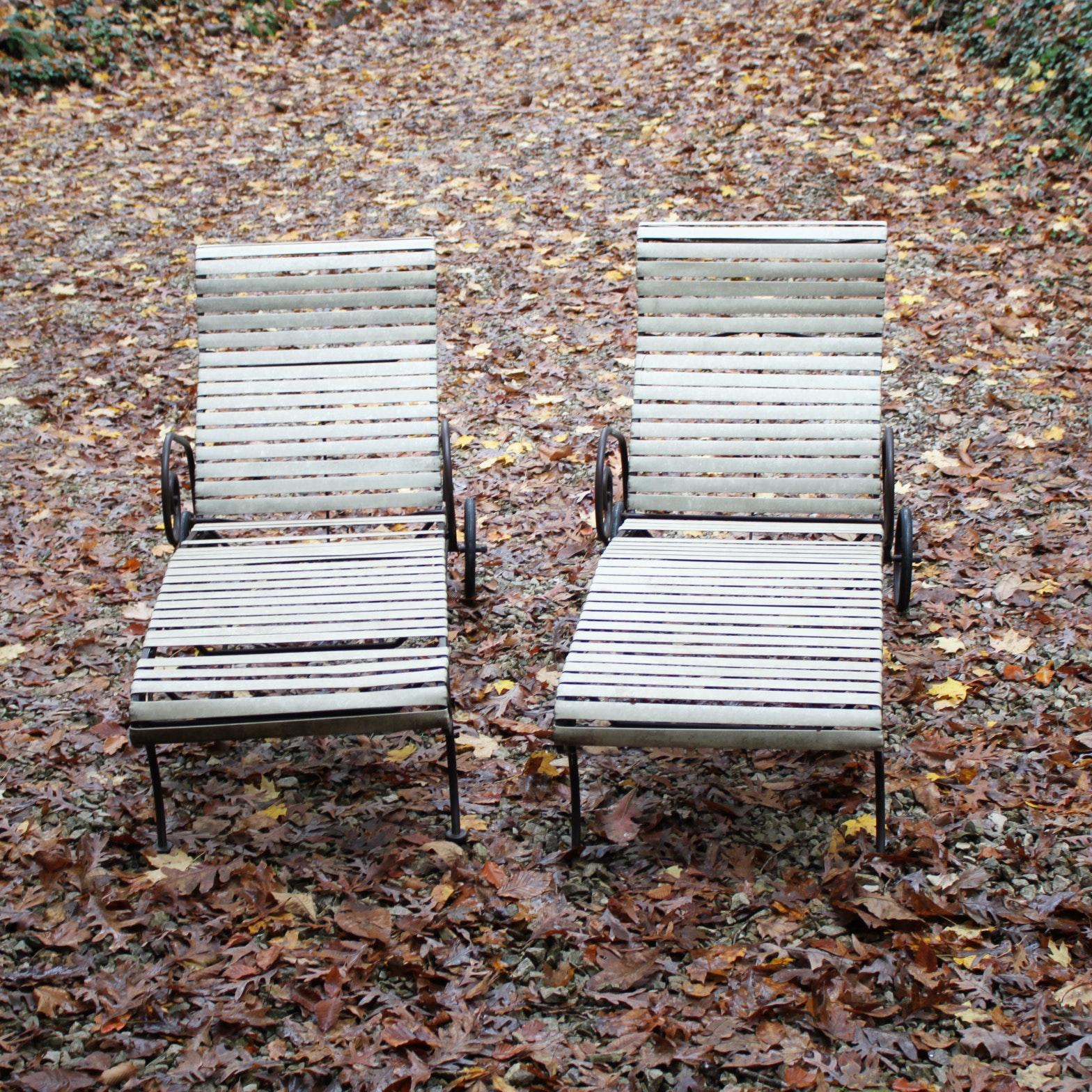 Metal Patio Lounge Chairs