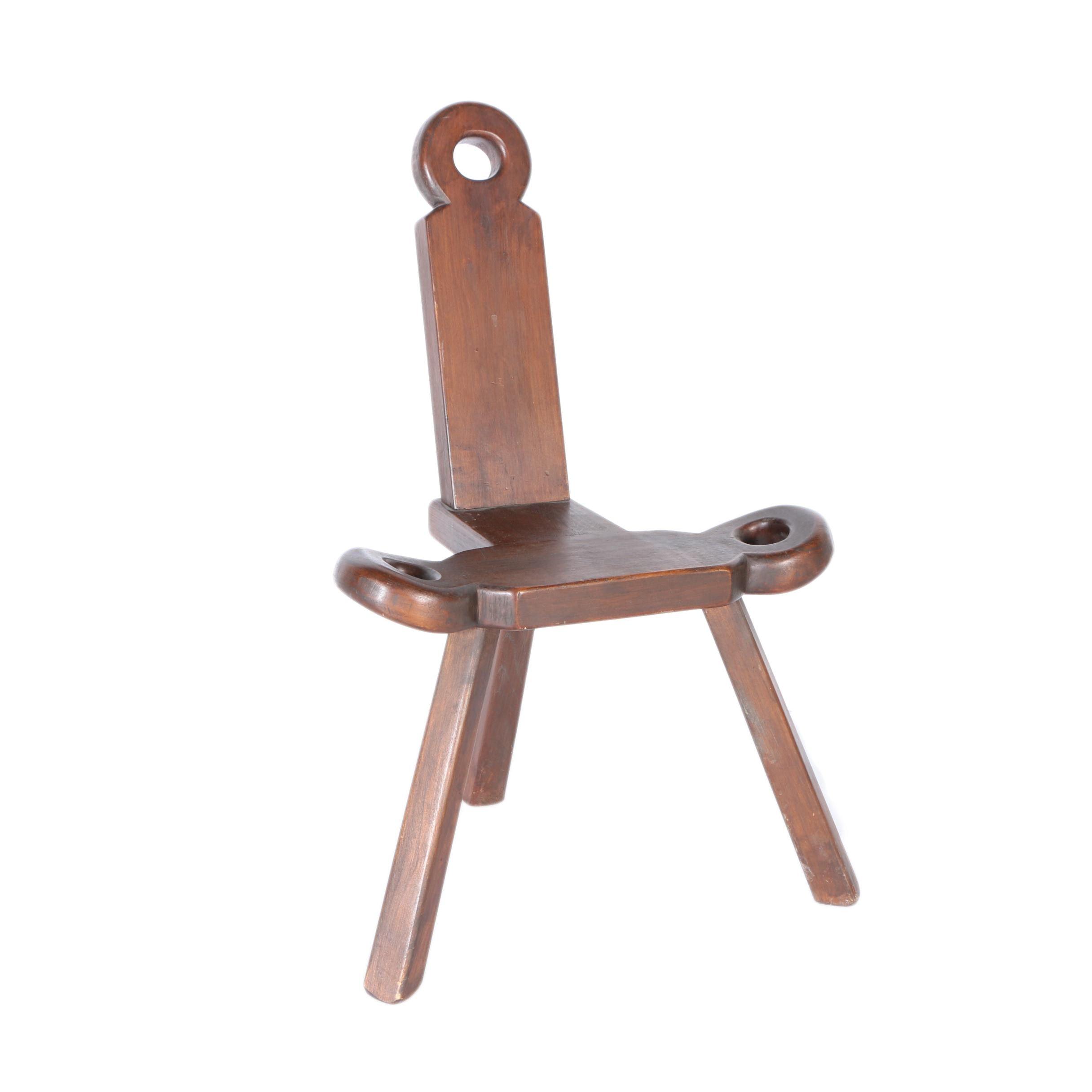 Vintage Birthing Chair