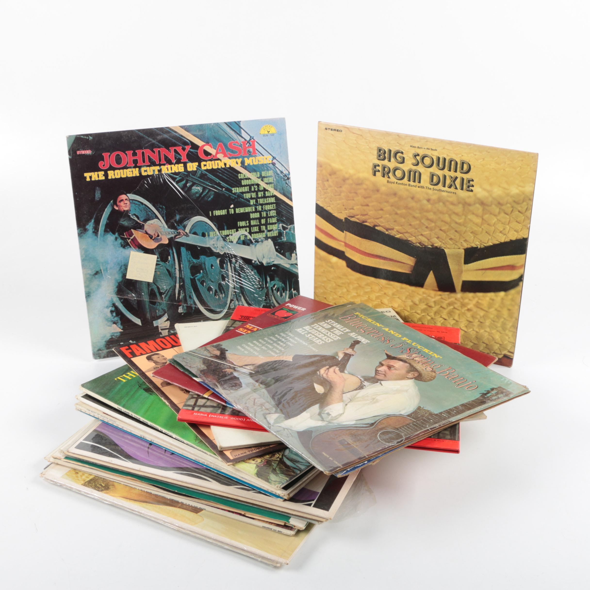 Assorted Vintage Records