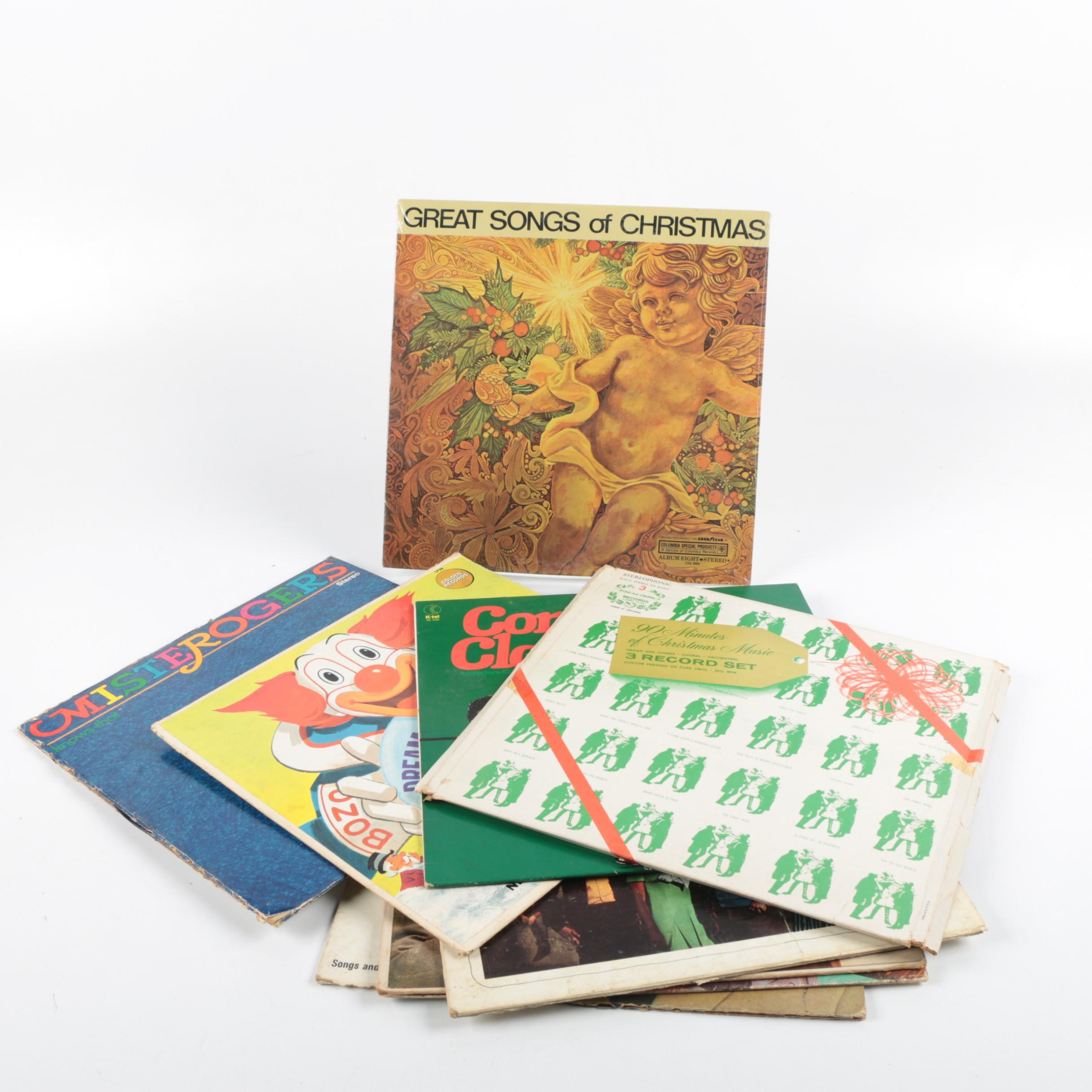Mr. Rogers, Disney and Other Children's Records