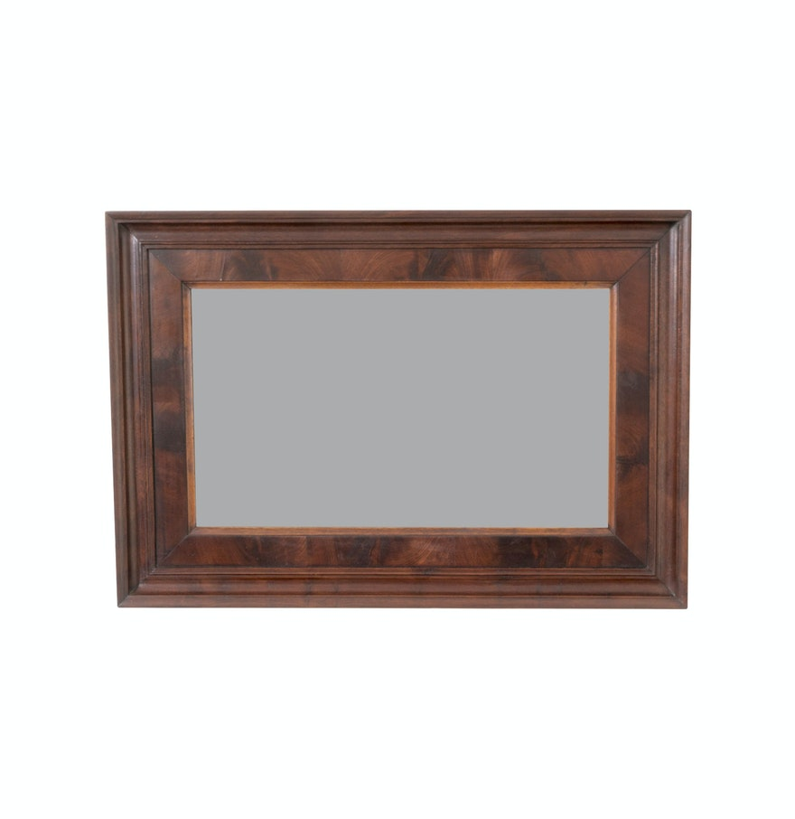 Wall mirror with burl wood frame ebth wall mirror with burl wood frame amipublicfo Choice Image