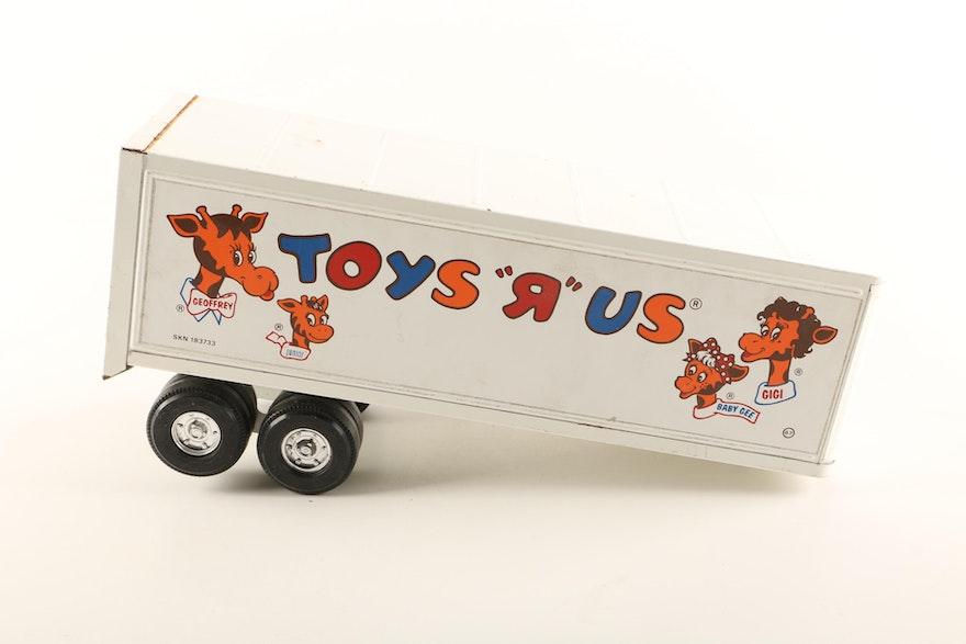 Max Steel Toys R Us : S ertl toys quot r us pressed steel semi truck ebth