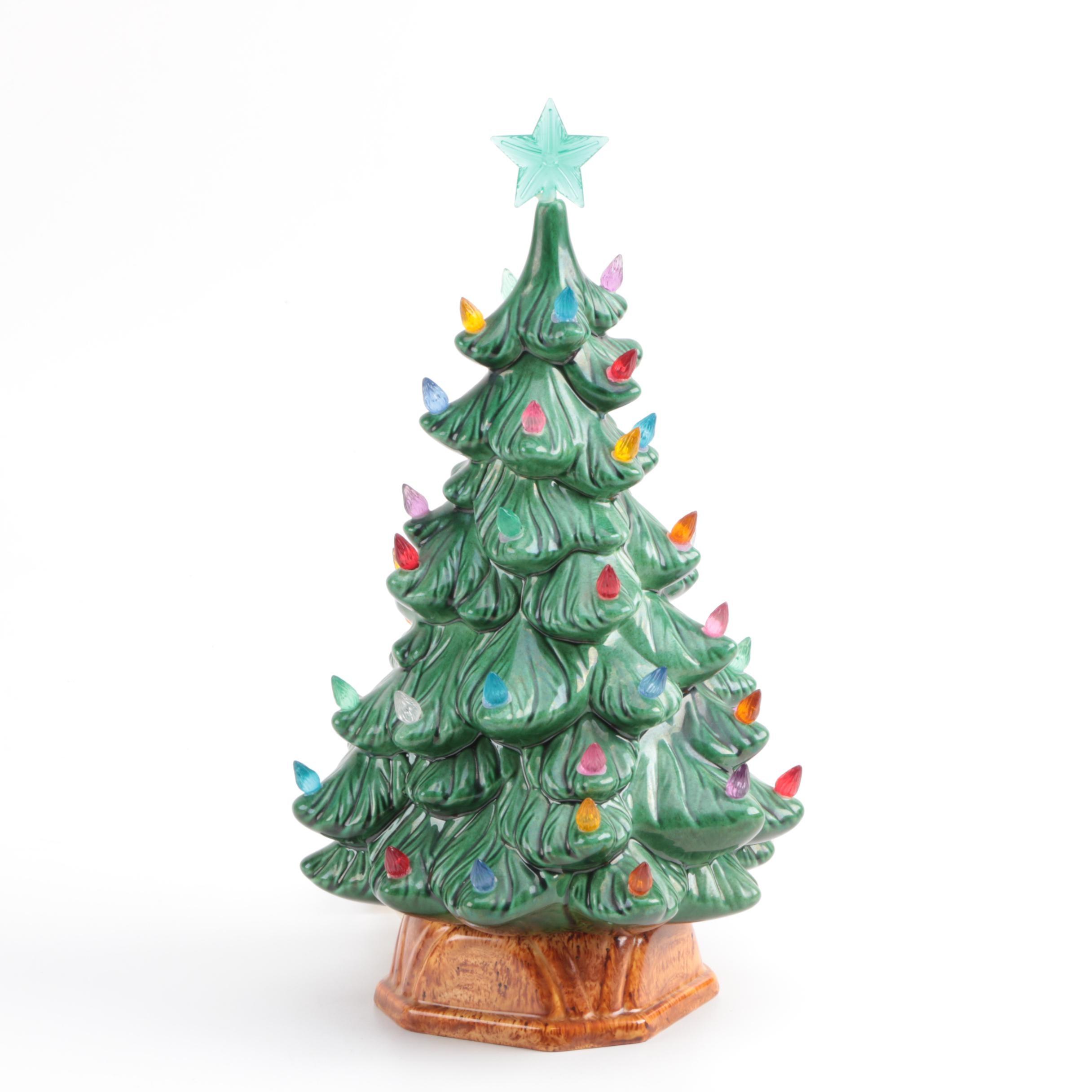 Mid Century Holland Mold Christmas Tree Light