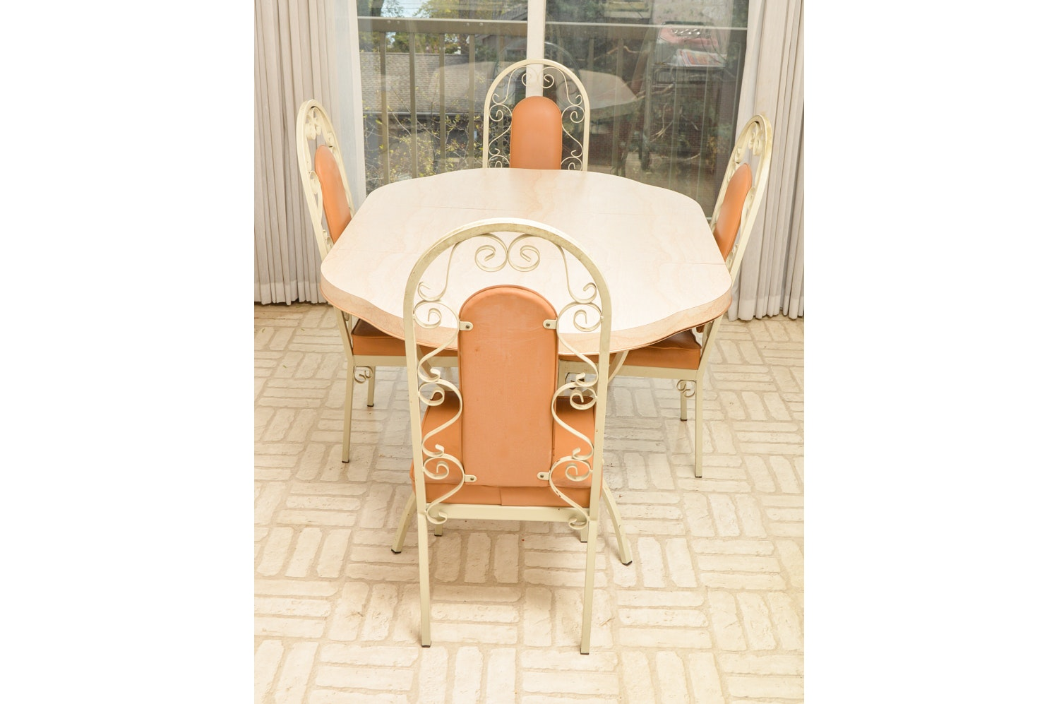 Mid-Century Kitchen Table and Chairs