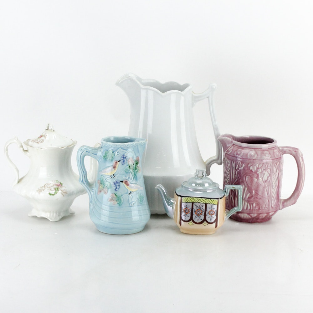 Antique and Vintage Teapots and Jugs