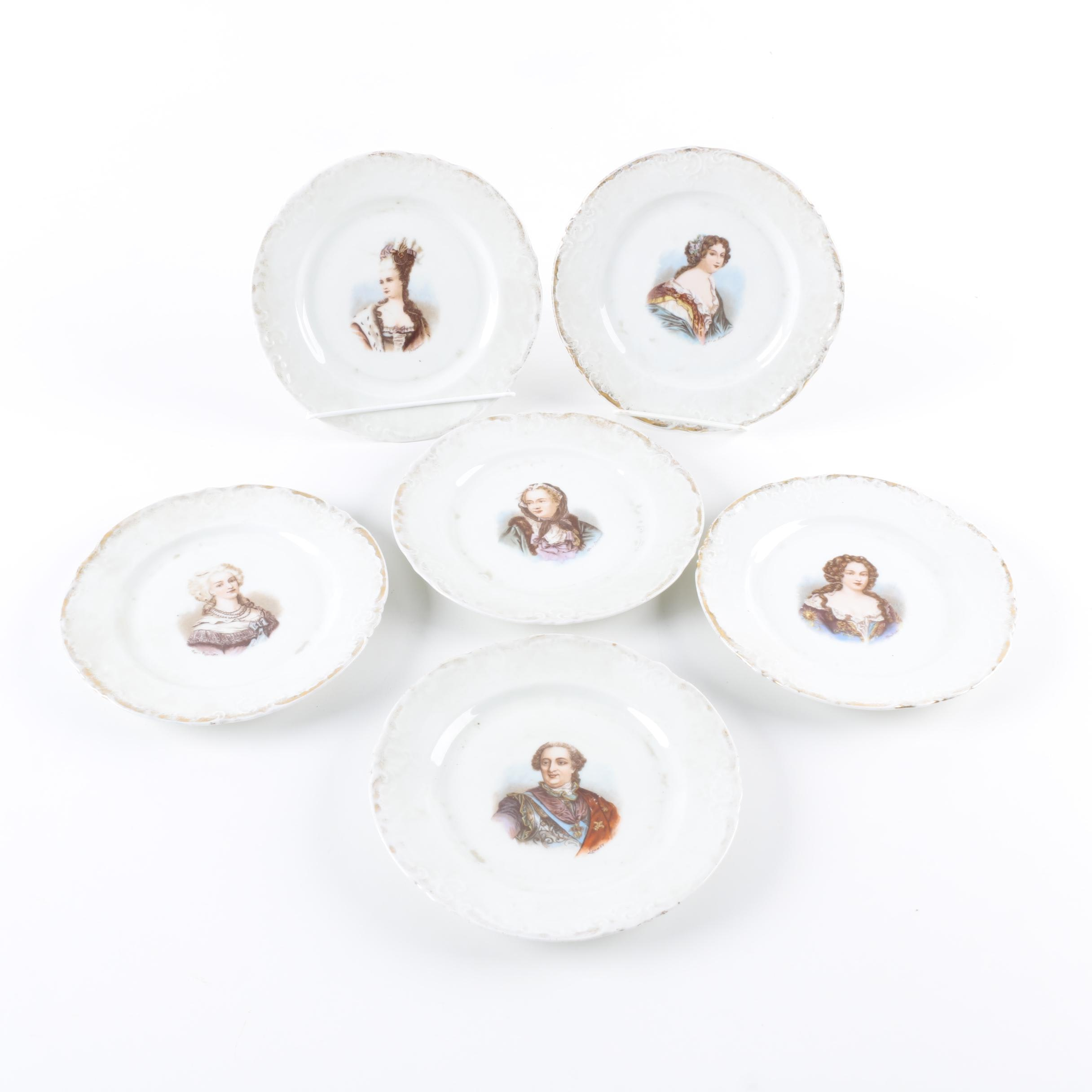 Victoria Carlsbad Austria Plates