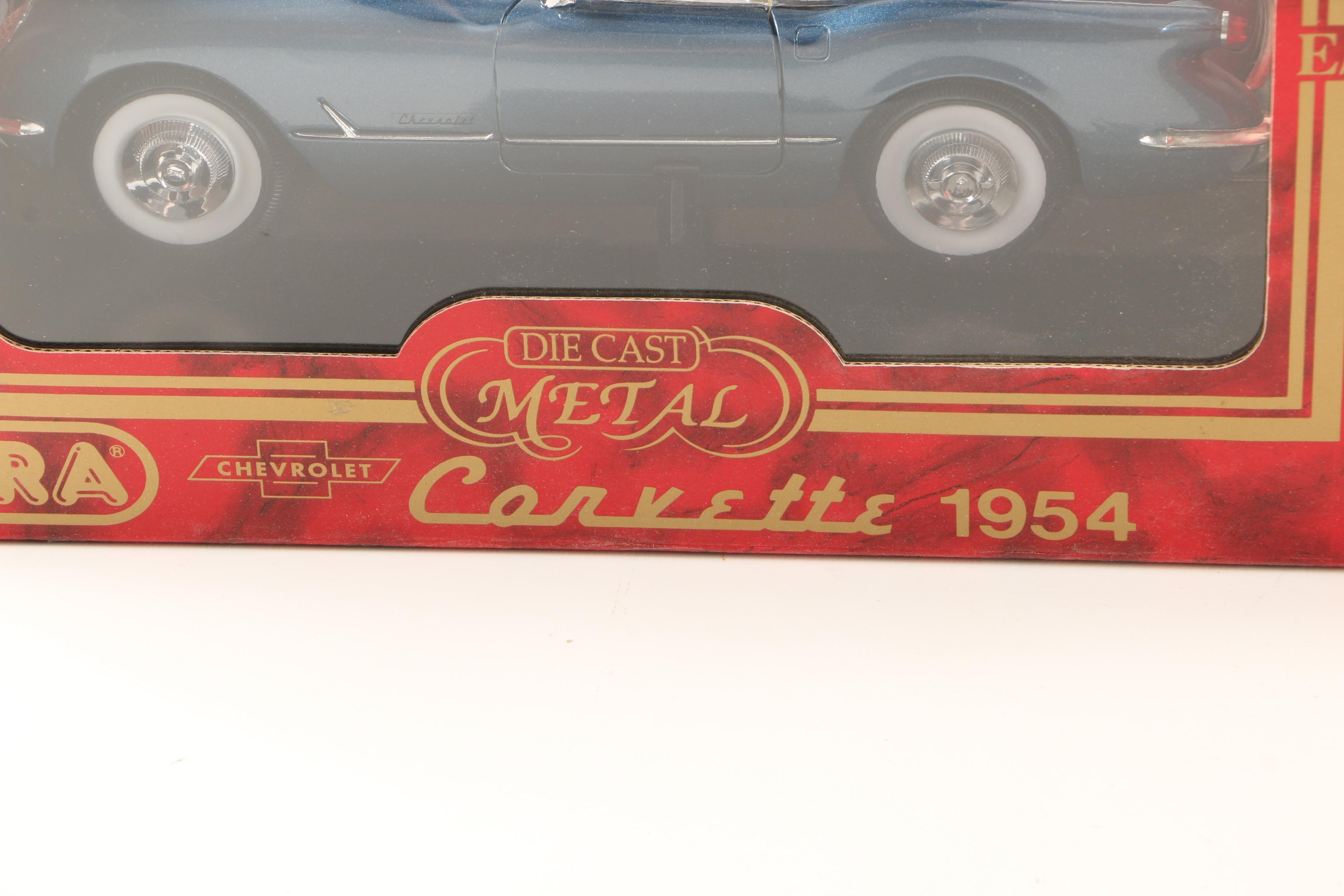 Mira Auto Sales >> Mercedes and Corvette Die-Cast Toy Cars : EBTH