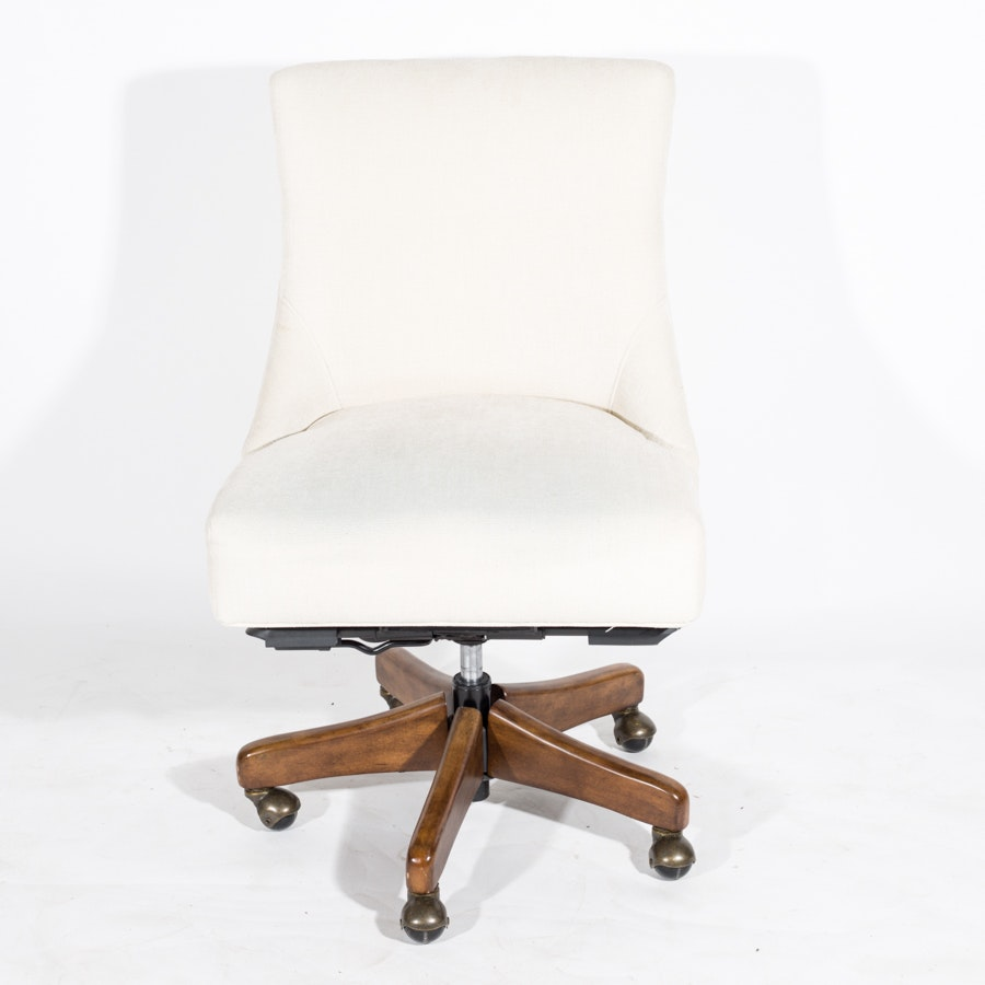 Upholstered Rolling Office Chair