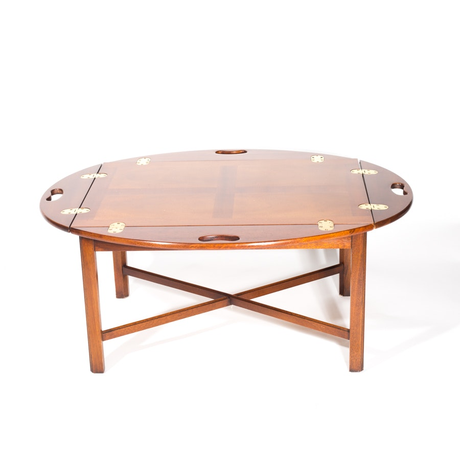 Chippendale Style Drop Leaf Coffee Table