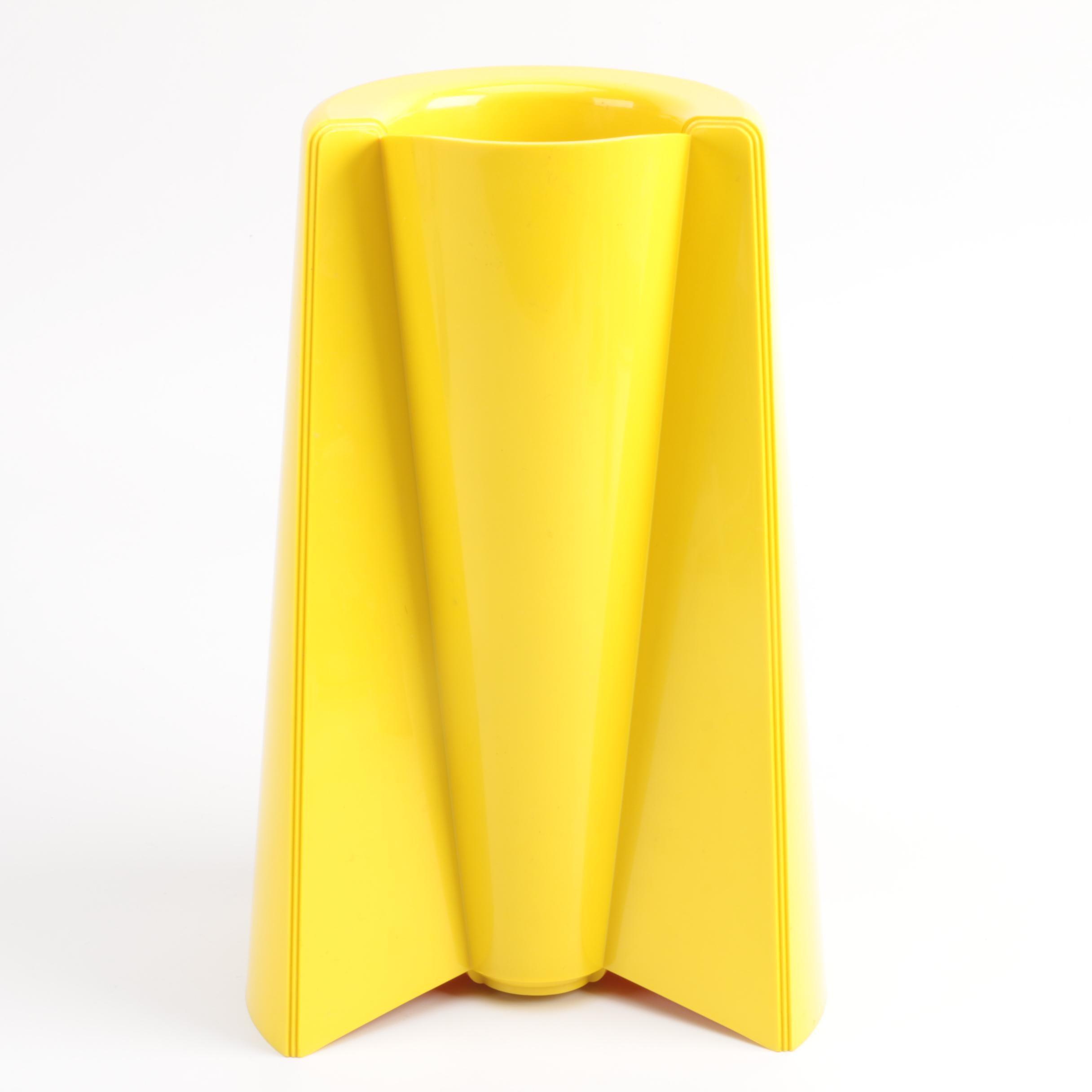 """1997 Enzo Mari """"Pago Pago"""" Vase for Alessi"""