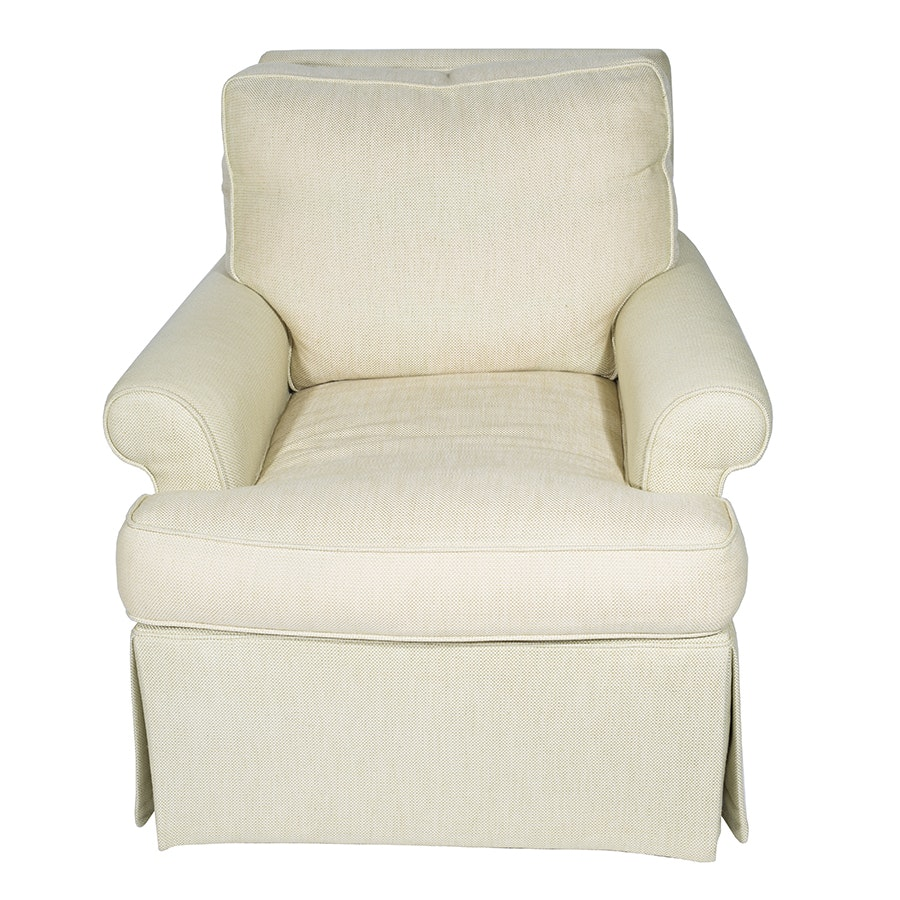 Cream Hue Club Chair by William Douglass, Ltd.