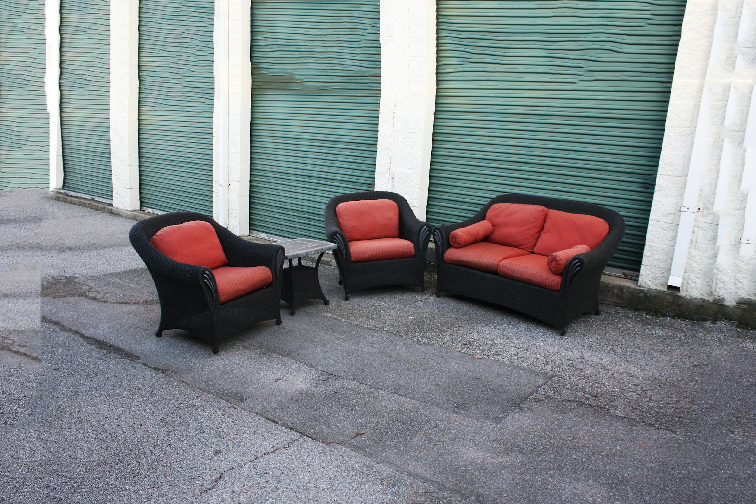 Outdoor Wicker Patio Set