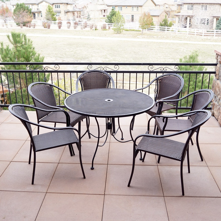 Patio Table And Chairs By Hampton Bay Plantation Patterns
