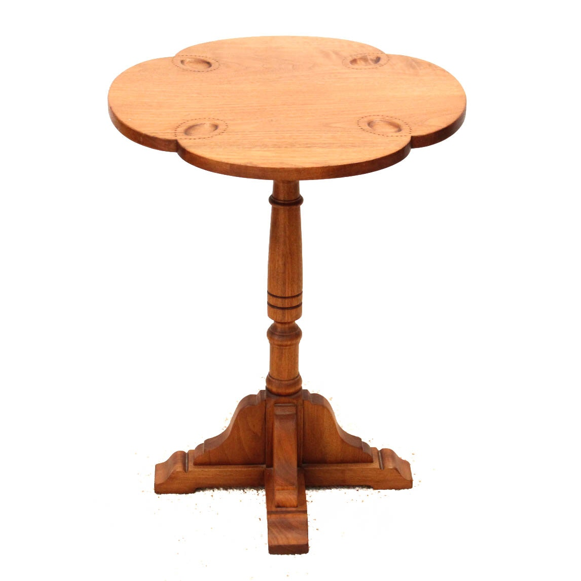 Vintage Walnut Accent Table ...