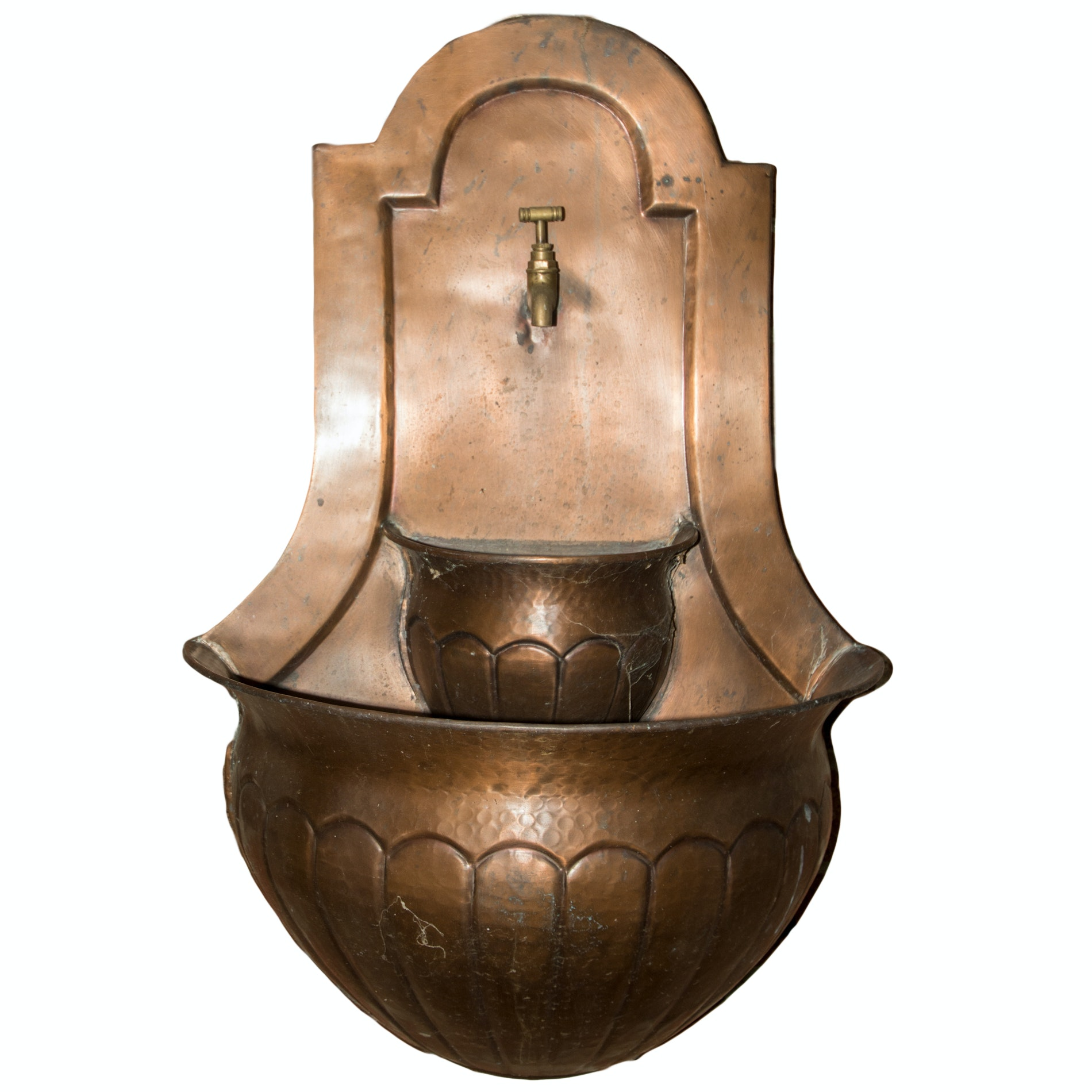 Electric Outdoor Copper Fountain