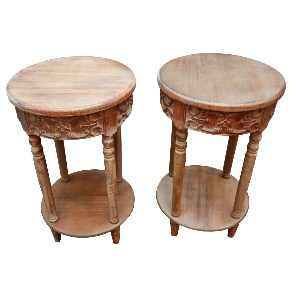 Pair of End Tables by The Design House