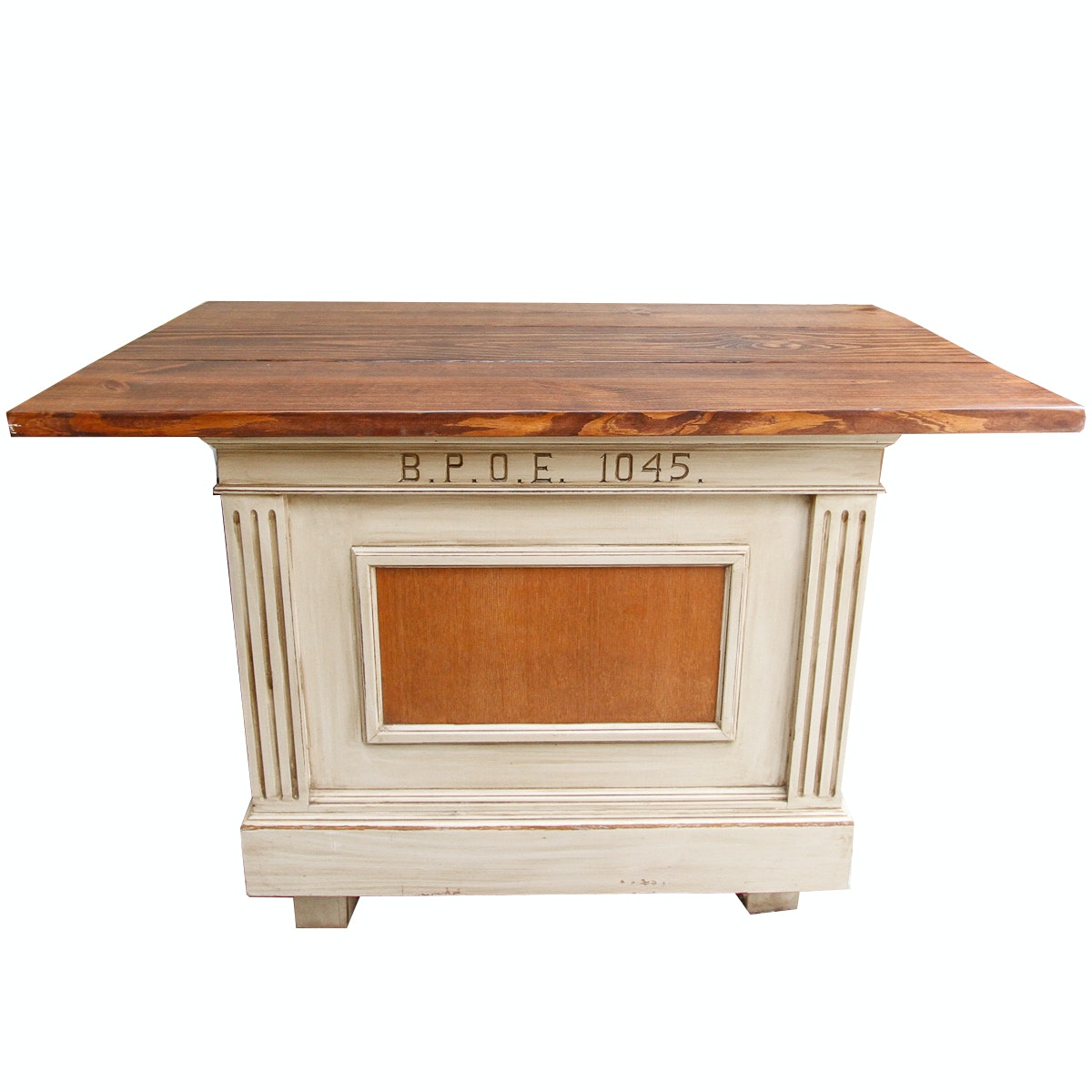 Wooden Kitchen Island