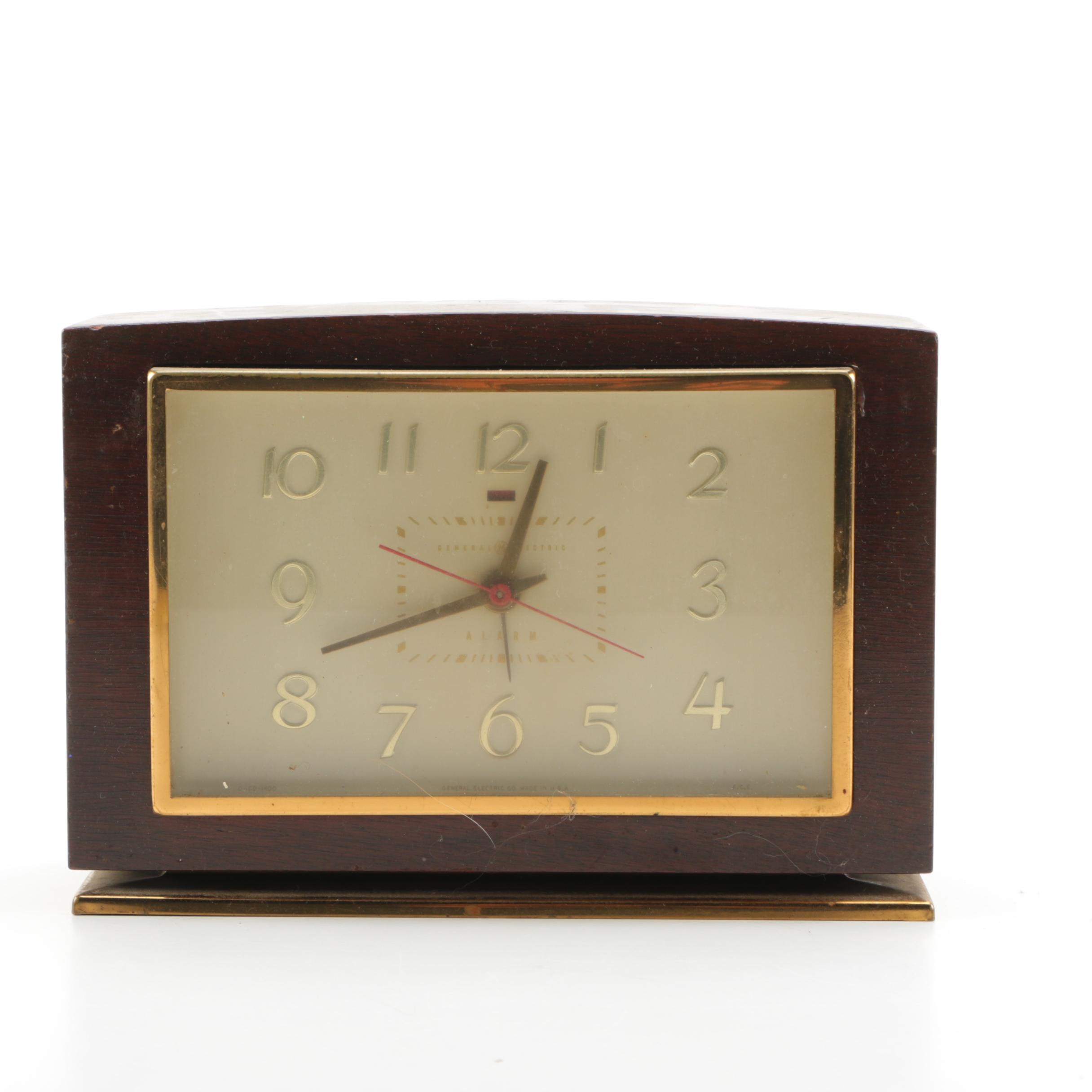 general electric vintage alarm clock