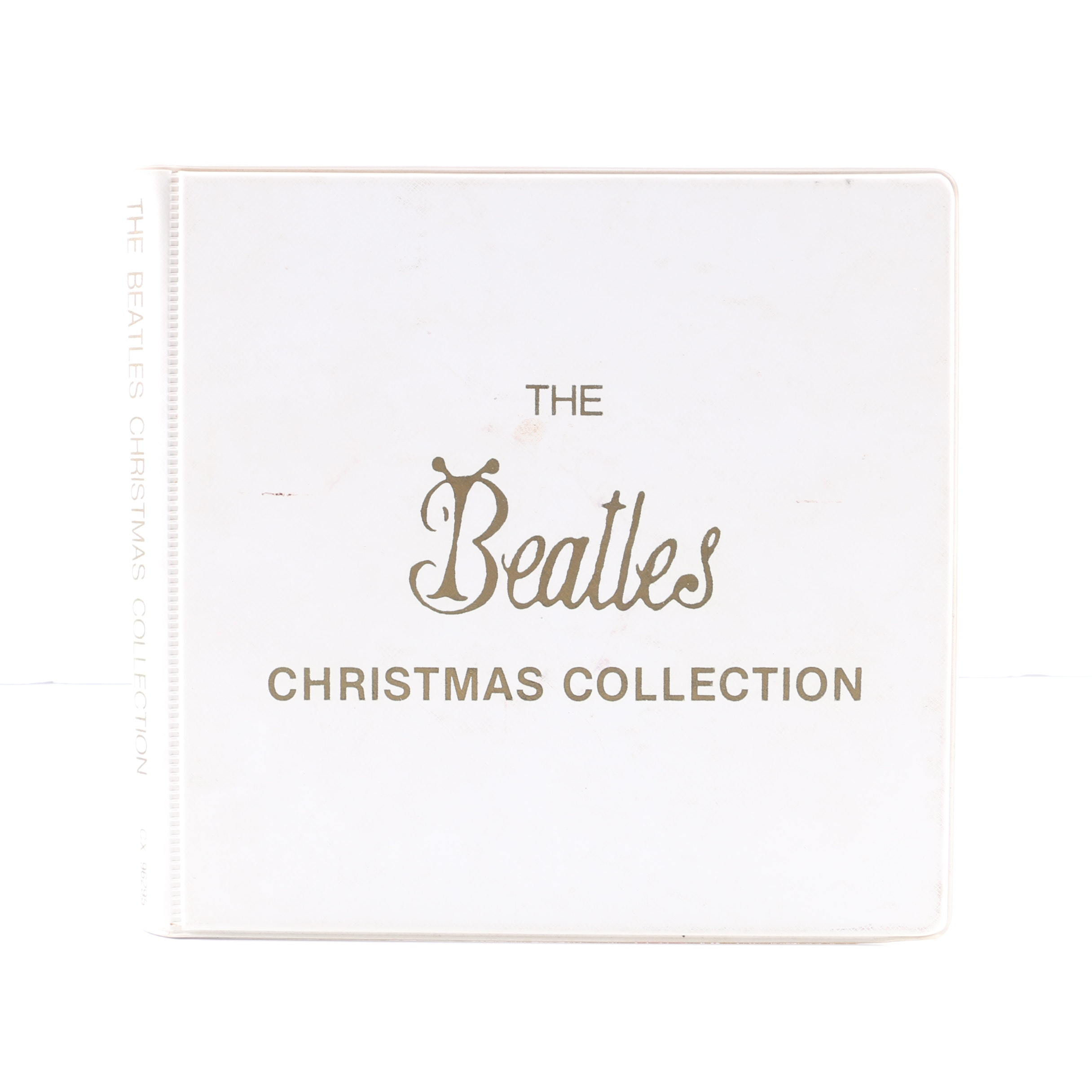 """The Beatles """"Christmas Collection"""" Official Fan Club Picture Disc Box Set"""