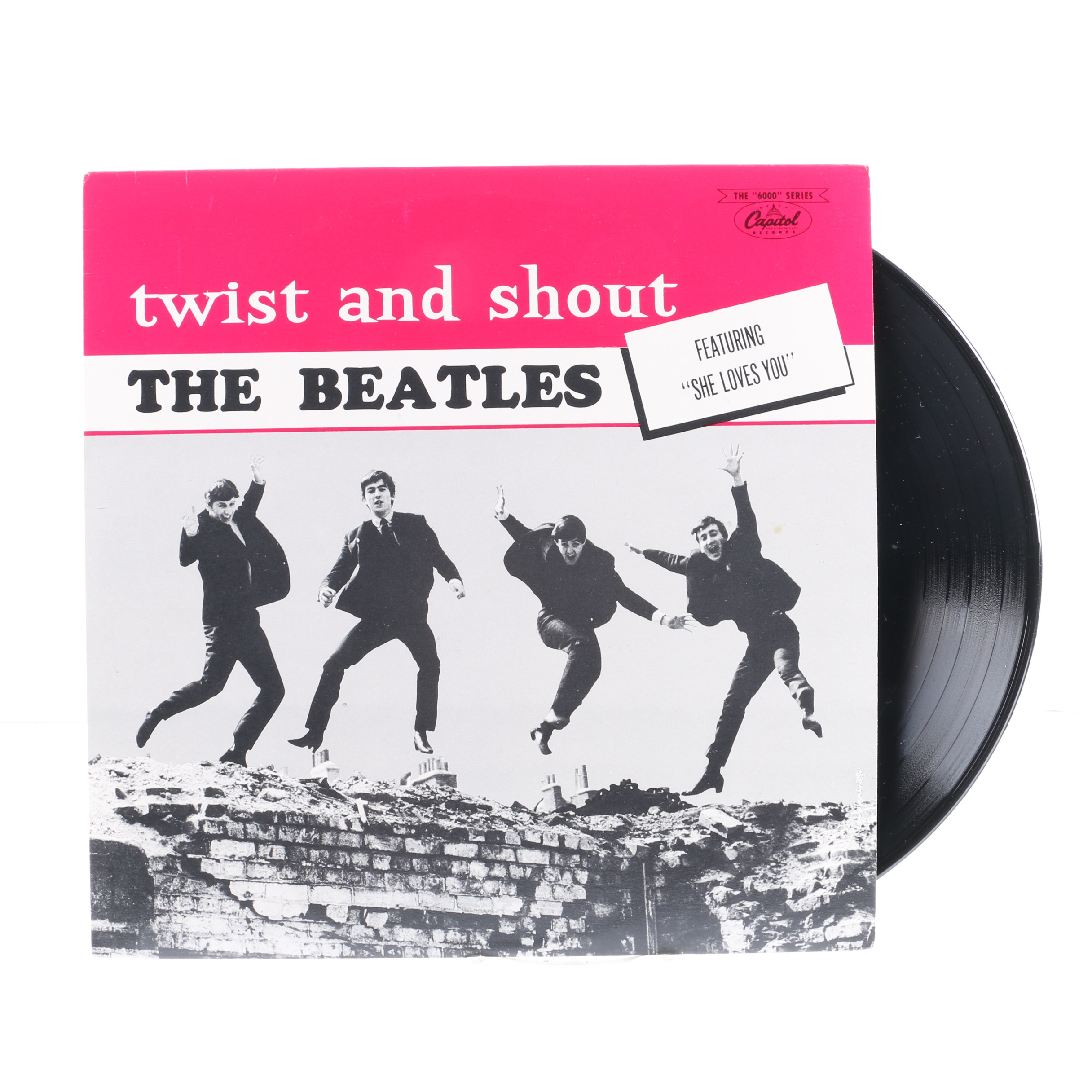 """The Beatles """"Twist And Shout"""" Canadian Stereo Pressing LP"""